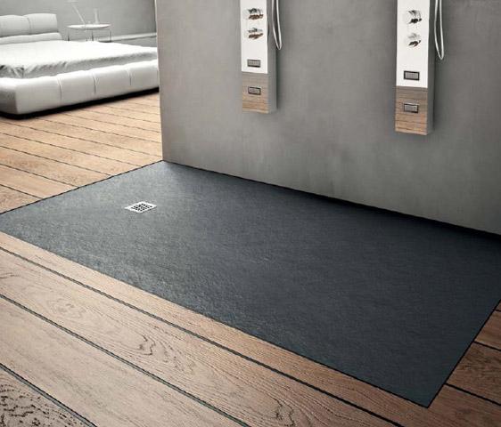 Piatto doccia in resina 80x100 nero italgres outlet - Piatto doccia nero ...