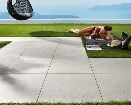 Piastrelle in gres porcellanato 20mm - pavimento galleggiante
