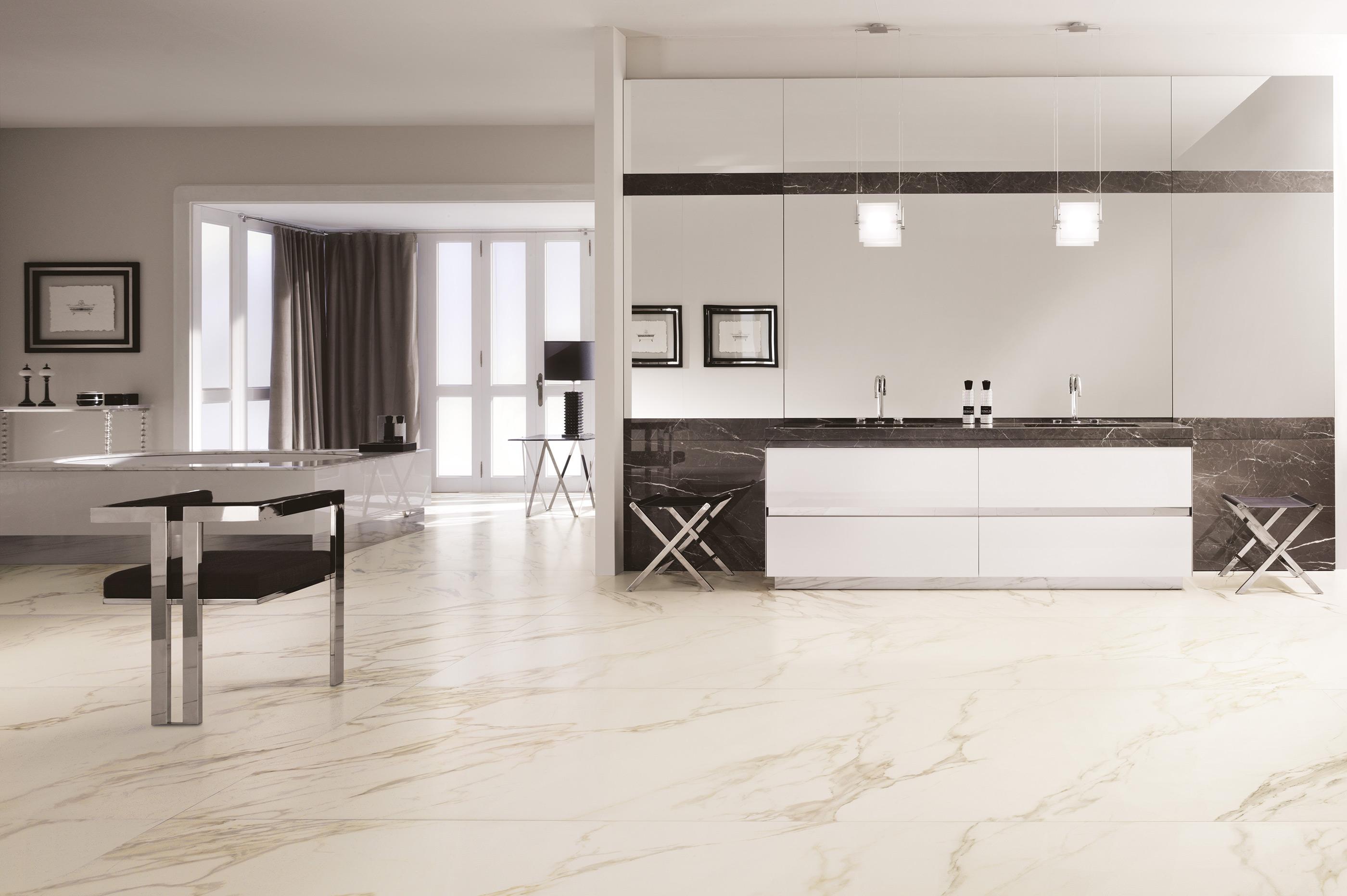 Gres Porcellanato Effetto Marmo Difetti cotto d'este calacatta exedra 60x120 - gres effetto marmo calacatta opaco