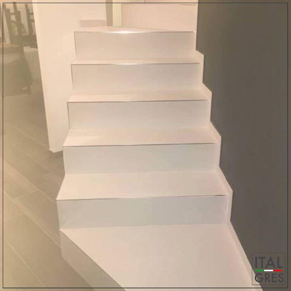 Rivestimenti Scale Interne Gres Porcellanato rivestimento scala in gres laminato - italgresoutlet.it