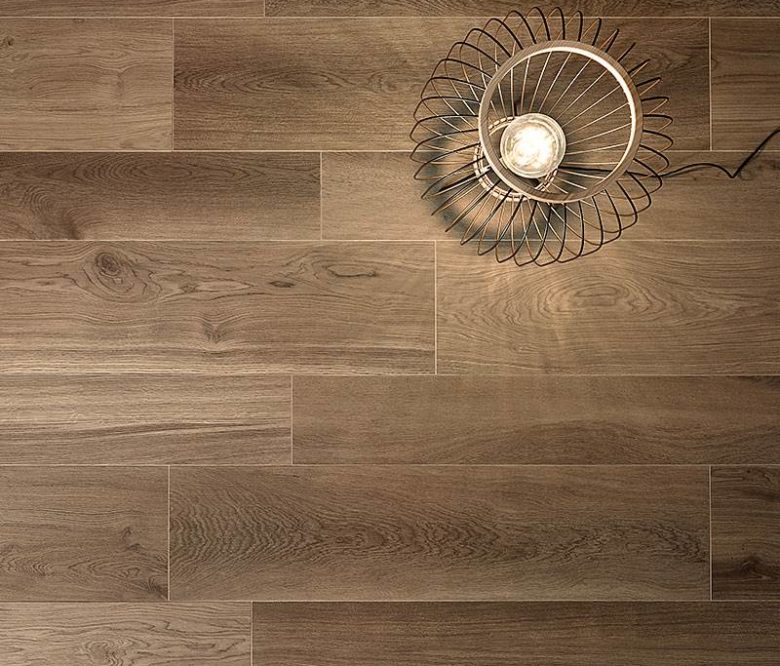 LEA CERAMICHE WALNUT CINNAMON BIO SELECT 20x120 - GRES PORCELLANATO EFFETTO PARQUET MARRONE