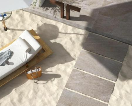 Gres porcellanato 20mm, per stabilimenti balneari e spiagge